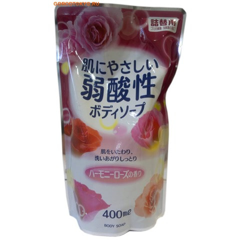 Eoria Жидкое мыло для тела с цветочным ароматом , 400 мл.