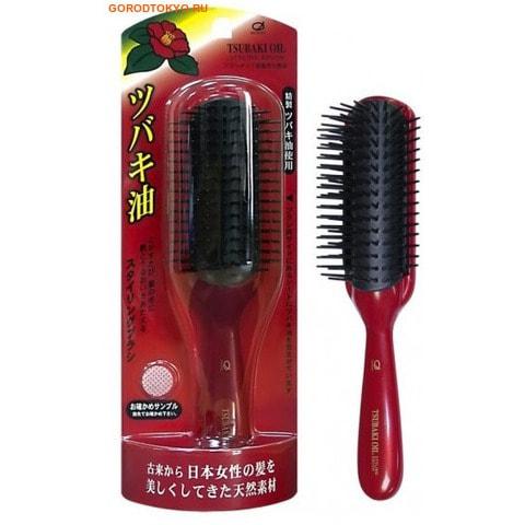 Фото IKEMOTO Щётка для укладки волос, с маслом камелии.. Купить с доставкой