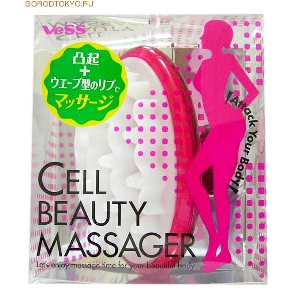 """VESS """"Cell beauty massager"""" Массажер для очищения и массажа проблемных участков тела."""