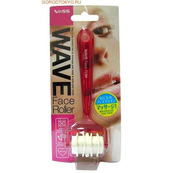 """VESS """"Wave face roller"""" Роликовый массажер для лёгкого расслабляющего """"волнового"""" массажа лица."""