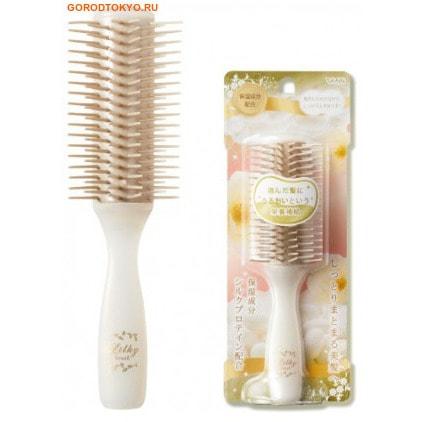 """VESS """"Likly brush"""" Щётка массажная для увлажнения и придания блеска волосам, с протеинами шёлка, малая. Размер: 15 см. от GorodTokyo"""
