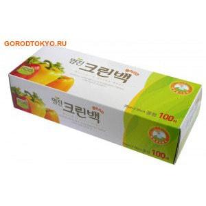 """MyungJin """"BAGS Tissue type"""" Пакеты полиэтиленовые пищевые, в коробке, 24х35 см, 100 шт."""