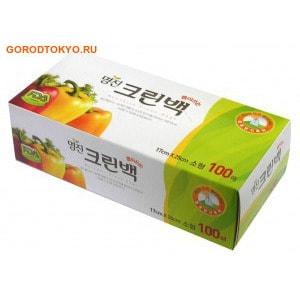"""Фото MyungJin """"BAGS Tissue type"""" Пакеты полиэтиленовые пищевые, в коробке, 17х25 см, 100 шт.. Купить с доставкой"""