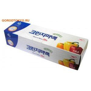 """MyungJin """"BAGS Double Zipper type"""" Пакеты полиэтиленовые пищевые, с двойной застёжкой-зиппером, в коробке, 25х30 см, 20 шт."""