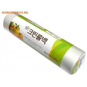 """MyungJin """"Bags Roll type"""" Пакеты полиэтиленовые пищевые, в рулоне, 17х25 см, 200 шт."""