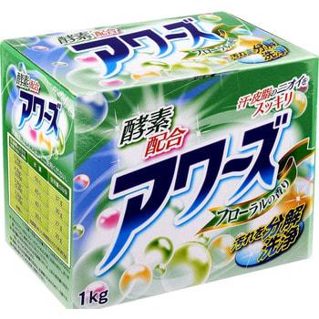 ROCKET SOAP «Awas EX Plus» Стиральный порошок для белья, с энзимами, 1 кг.