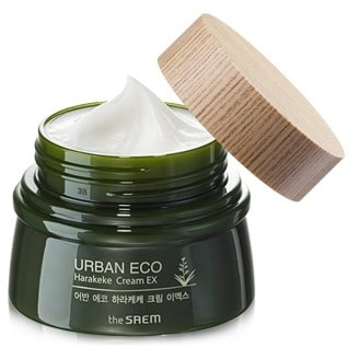 "SAEM ""Urban Eco Harakeke Cream EX"" ���� ����������� � ���������� ��������������� ����, 60 ��."