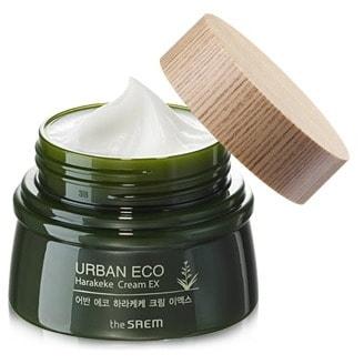 """SAEM """"Urban Eco Harakeke Cream EX"""" Крем питательный с экстрактом новозеландского льна, 60 мл."""