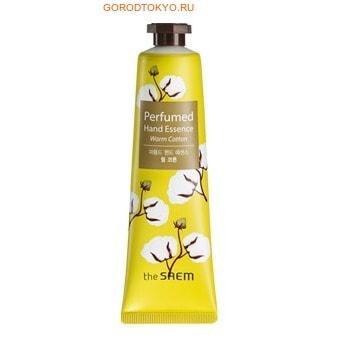 """SAEM """"Perfumed Hand Essence Warm Cotton"""" Крем-эссенция для рук парфюмированная, с ароматом хлопка, 30 мл."""