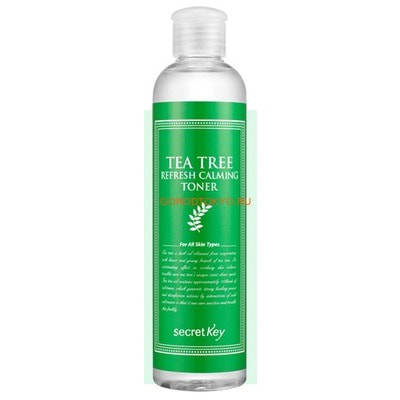 """SECRET KEY """"Tea Tree Refresh Calming Toner"""" Тоник для лица антибактериальный, с маслом чайного дерева, 248 мл."""