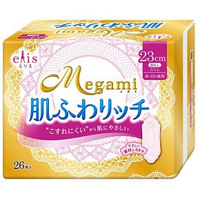 "Daio paper Japan ""Elis Megami 23 Skin Care Slim Normal"" ������ ������������� ��������� ��� ��������, ����� 26 ��."