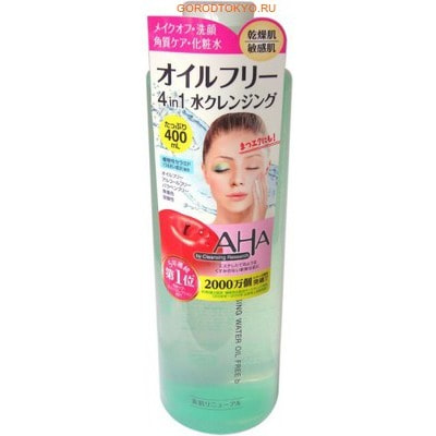 "BCL ""Cleansing Water Oil Free"" Средство для очищения и снятия макияжа с фруктовыми кислотами - мицеллярная вода, 400 мл."