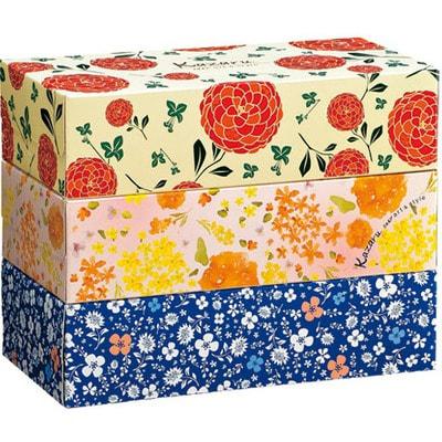 """Ellemoi """"Kazaru - art & style"""" Бумажные двухслойные салфетки, спайка: 3 пачки по 160 шт."""