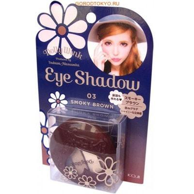 "KOJI HONPO ""Dolly Wink Eye Shadow"" Тени для век четырёхцветные (03 – дымчато-коричневый)."