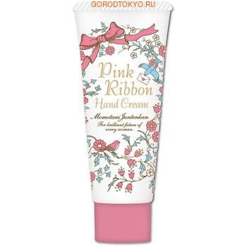 """Momotani """"Pink Ribbon Hand Cream"""" Крем для рук с экстрактами 5-ти цветов и маслом ши, 30 г. (фото)"""