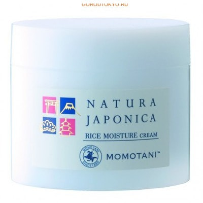 "MOMOTANI ""NJ Rice Moisture Cream"" ����������� ���� � ���������� ����������������� ����, 48 �."