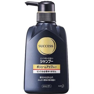 """KAO """"Success"""" Мужской шампунь для увеличения объёма волос, против перхоти, шелушения и раздражения кожи, 350 мл."""