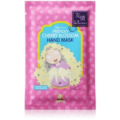 """SALLY'S BOX """"CHEERY BLOSSOM"""" Увлажняющие перчатки для рук предназначены для глубокого увлажнения, питания и восстановления эластичности утомлённой кожи."""