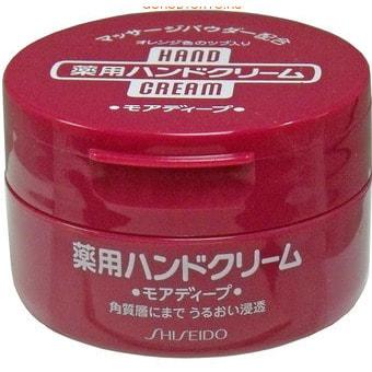 """SHISEIDO """"Medicated Cream"""" Суперувлажняющий крем для рук на водной основе, 100 г."""