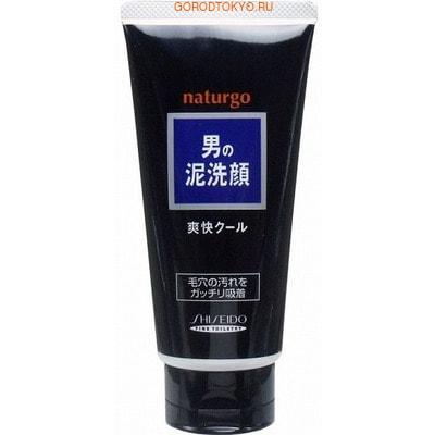 """SHISEIDO """"NATURGO"""" Мужская пенка для лица """"Естественное очищение"""" с натуральной глиной, 130 г."""