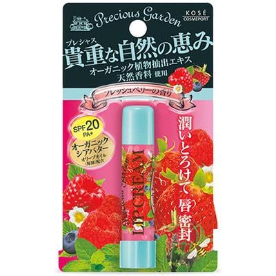 """KOSE Cosmeport """"Precious Garden"""" Бальзам для губ """"Свежие ягоды"""", с органическими экстрактами растений."""