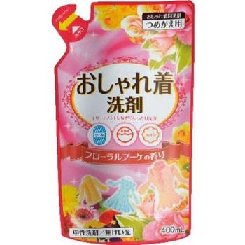 """Nihon """"Oshyare Floral Bouquet"""" Жидкое средство для деликатной стирки шерсти, шёлка, 400 мл. Мягкая упаковка."""