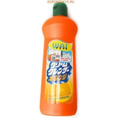 """NIPPON DETERGENT """"Cream Cleanser Orange"""" Кремовое чистящее и полирующее средство с ароматом апельсина, 400 г."""