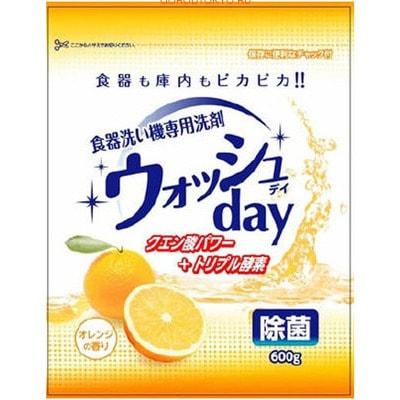 "Nihon ""Wash Day"" Средство для мытья посуды в посудомоечных машинах, 600 г. (фото)"