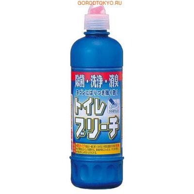 "Nihon ""Toilet Bleach"" Отбеливающее дезинфицирующее средство для туалета, 500 мл."