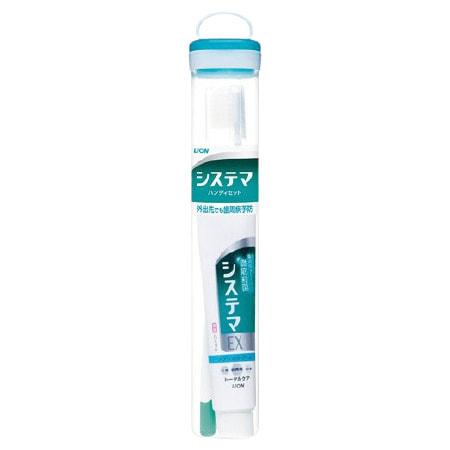 """Lion """"Dentor Systema"""" Дорожный набор для чистки зубов."""