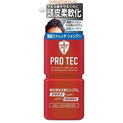 LION Pro Tec Мужской увлажняющий шампунь-гель с лёгким охлаждающим эффектом, 300 г.