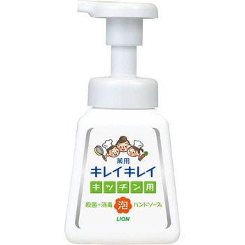 LION KireiKirei Кухонное антибактериальное мыло-пенка для рук, с маслом цитрусовых, 230 мл.