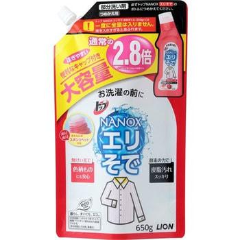 """LION """"Top"""" Жидкий пятновыводитель для стирки воротничков, рукавов, сменная упаковка, 650 г."""