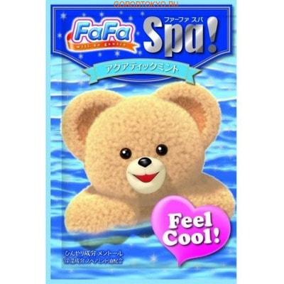 """NISSAN """"FaFa Series Feel Cool"""" Соль для ванны для всей семьи, c ароматом свежей мяты, 30 г."""