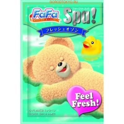 """NISSAN """"FaFa Series Feel Fresh"""" Соль для ванны для всей семьи, c ароматом утренней свежести, 30 г."""