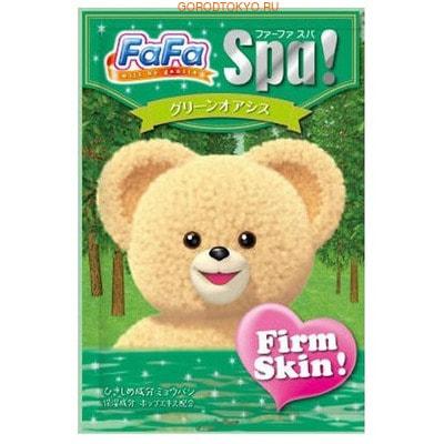 """NISSAN """"FaFa Series Firm Skin"""" Соль для ванны для всей семьи, с ароматом зелёного оазиса, 30 г."""