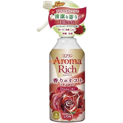 "LION ""Diana"" Кондиционер-спрей для белья с чарующим ароматом роз, 200 мл."