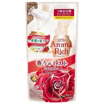 "LION ""Diana"" Кондиционер-спрей для белья с чарующим ароматом роз, 180 мл."