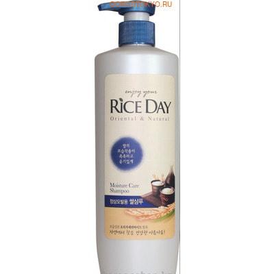 """CJ Lion """"Rice Day"""" Кондиционер для повреждённых волос увлажняющий, 550 мл."""