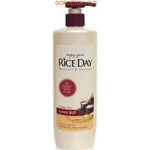 """CJ LION """"Rice Day"""" Шампунь для повреждённых волос увлажняющий, 550 мл."""