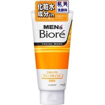 """KAO """"Men's Biore"""" Мужской очищающий гель для лица c эффектом интенсивного увлажнения, 130 г."""