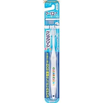 KAO Clear Clean Детская зубная щётка, от 7 до 12 лет, средней жёсткости.