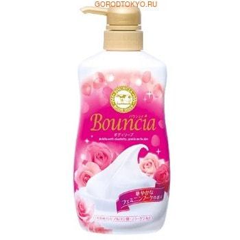 """COW """"Bouncia"""" Жидкое увлажняющее мыло для тела """"Взбитые сливки"""", с гиалуроновой кислотой и коллагеном, со сладким цветочным ароматом, 550 мл."""