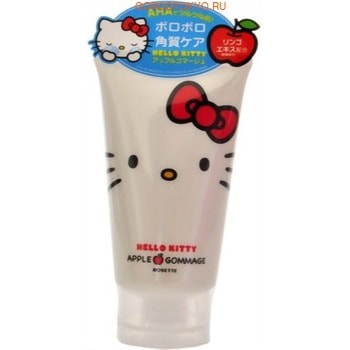 """ROSETTE """"Hello Kitty"""" Нежный гель-пилинг для чувствительной кожи лица, с ароматом яблока, 120 г."""