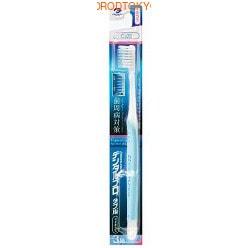 """Dentalpro """"W Merit Mild"""" Зубная щётка с компактной головкой с комбинированными щетинками в 3 ряда """"C322 Двойное преимущество"""", средняя жёсткость."""