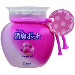 """Фото ST """"Shoushuu Pot"""" Ароматизатор автомобильный с ароматом роз, 150 гр.. Купить с доставкой"""