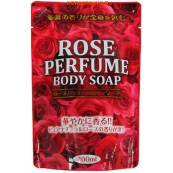NIHON Detergent Wins Rose Perfumed Body Soap Премиум восстанавливающее парфюмированное мыло для тела, с ароматом роз, 400 мл.Гели для душа, жидкое крем-мыло<br>Мыло с богатым ароматом подарит расслабление и салонный уход.  Комплекс кислот предотвращает преждевременное старение кожи, эффективно борется с морщинами, стимулирует заживление микроповреждений и регенерацию клеток.  Лауриновая кислота улучшает цвет и состояние кожи, делает ей гладкой и бархатистой.  Масло шиповника обеспечивает глубокое увлажнение.  После применения на теле остается богатый аромат роз.<br>