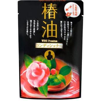 "NIHON Detergent ""Wins premium camellia oil conditioner"" Премиум кондиционер с эфирным маслом камелии, 400 мл."