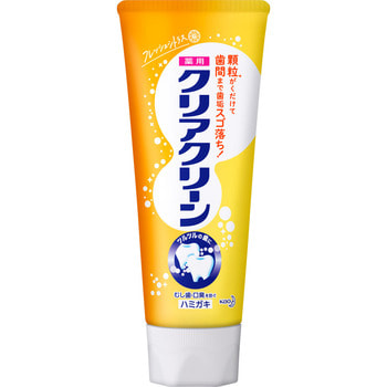 """KAO """"Clear Clean"""" Освежающая зубная паста с фтором для профилактики кариеса и гингивита, со вкусом цитруса, 130 г."""