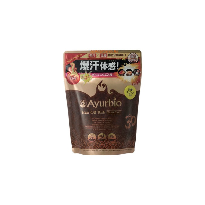 """COSME COMPANY """"Ayurbio"""" Согревающая соль для ванн - антицеллюлитный эффект, 500 гр."""